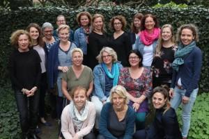 Groepsfoto ambassadeurs voor de jeugdverpleegkundigen